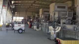 55 000 horsepower ariel gas compressor plant start up