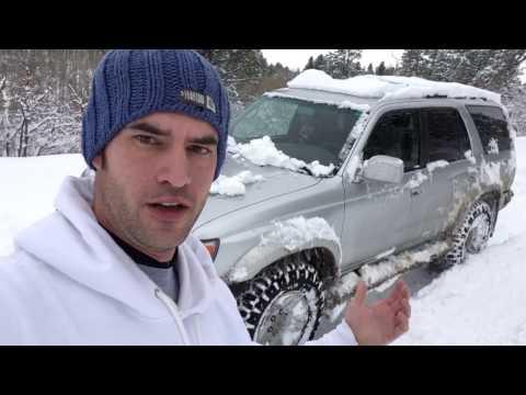 ORDIP VID: GoodYear Wrangler Duratrac Snow Test