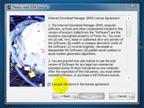 How to Registered Internet download Manager IDM 6 27 Build 2 in Urdu