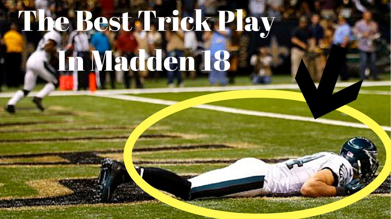 Madden 18 The CRAZIEST Trick Play In The Game!!   Madden 18 Money Play