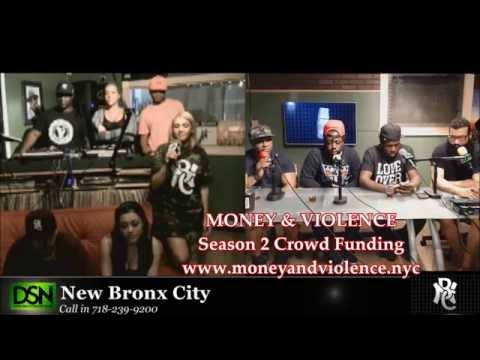 """New Bronx City Radio Interview with the """"Money and Violence"""" cast"""