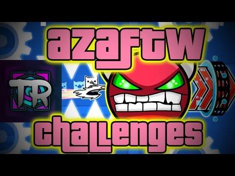 TRUSTA CHALLENGE! ~ Geometry Dash AzaFTW Challenges