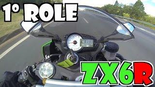Eric99 Primeiro role de ZX6R Kawasaki motoca loca da W.E