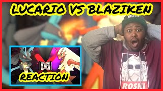 KungFu Kickoff!!! Lucario VS Blaziken (Pokemon Battle) | DBX REACTION | REACT | BLIND REACTION