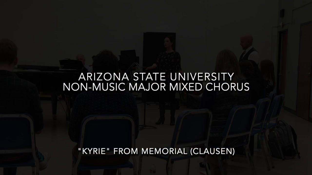 Erica Glenn:  SATB Choruses at Arizona State University