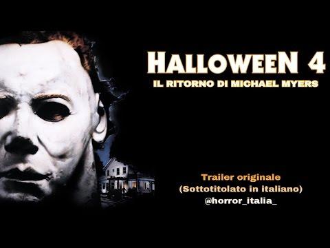 HALLOWEEN 4 - IL RITORNO DI MICHAEL MYERS (Trailer + Sottotitoli in Italiano)
