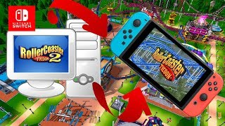 Roller Coaster Tyccon 2 Port Pc No Nintendo Switch