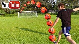 top 5 luckiest youtube crossbar shots