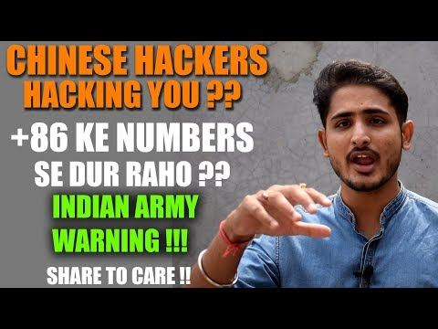 Chinese Hackers Hacking You ? Warning By Indian Army 🔥 +86 Numbers In WhatsApp Group 😱🔥