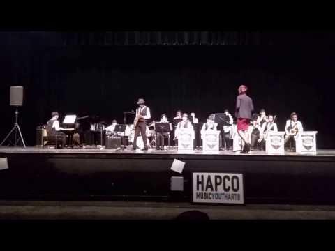 Lockhart Middle School Jazz Band 2017 HAPCO Jazz Festival
