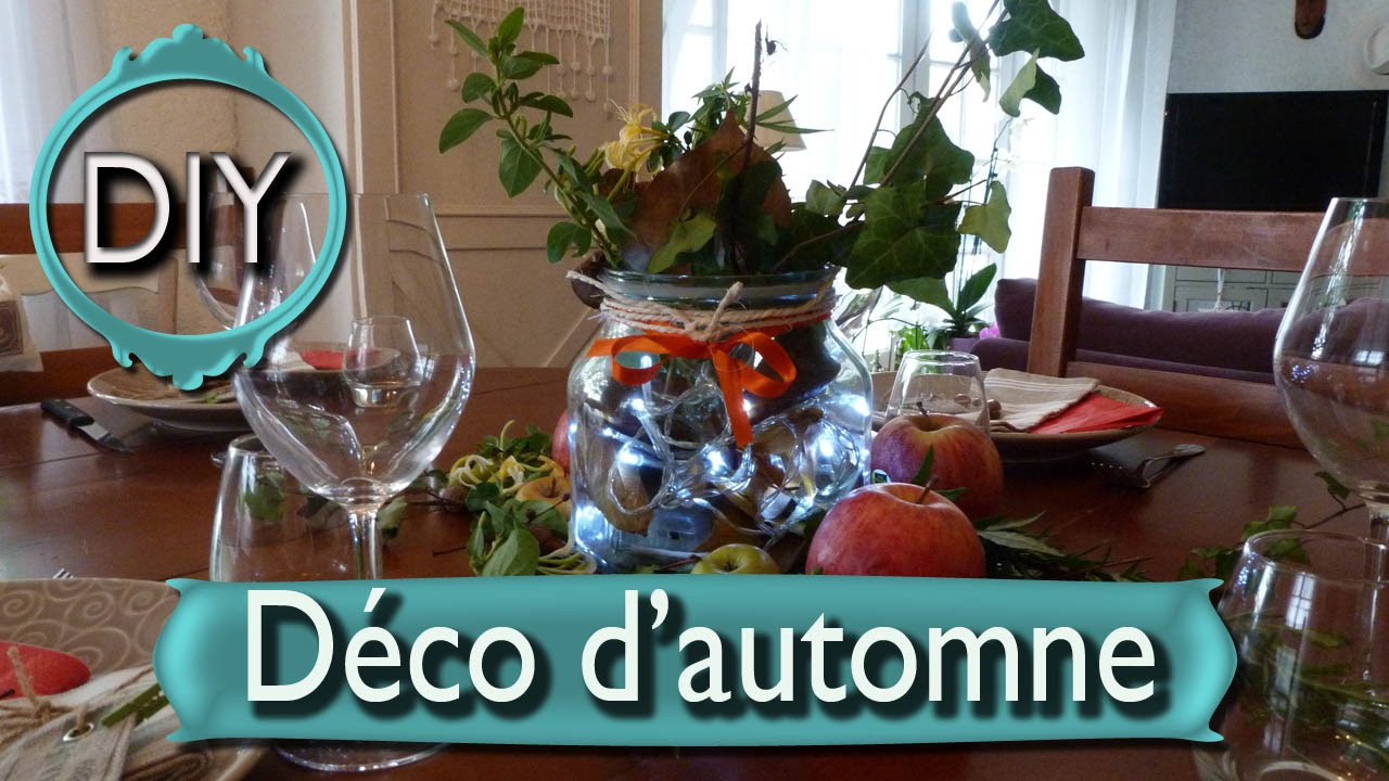 diy d coration d 39 automne pour halloween faire soi m me pas cher youtube. Black Bedroom Furniture Sets. Home Design Ideas
