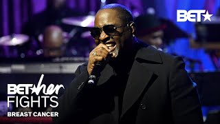 """Johnny Gill Woos Crowd With """"My, My, My,"""" """"There U Go,"""" & More Performance!   BET Her Fights"""