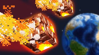 What if Minecraft had REALISTIC Natural Disasters Update?