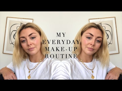 Everyday Natural Glowing Skin Make-Up Routine