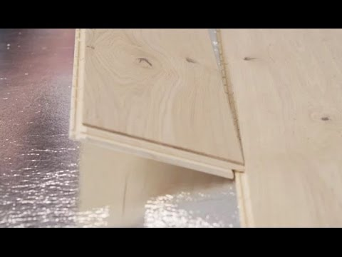 How to install Parador Engineered Wood Flooring
