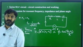 I PUC | ELECTRONICS | AC and DC APPLIED TO PASSIVE COMPONENTS  -  01