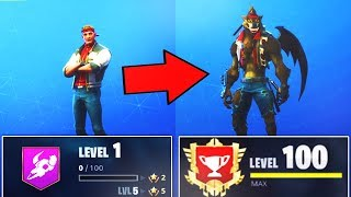 How to Hit LEVEL 100 FAST in Season 6! (RANK UP FAST in Fortnite)