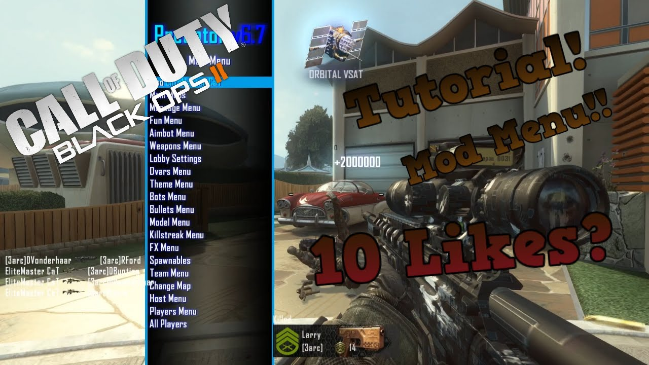 How to get BO2 Multiplayer Mod Menu 2017 (PC) (BEST MENU)