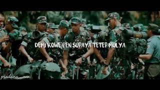Download Mp3 Demi Kowe Pendhosa  Ska  Lyrics Video Versi Tni
