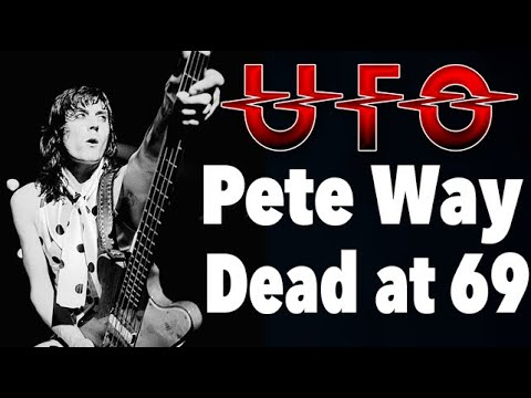 Former UFO bassist Pete Way dead at 69