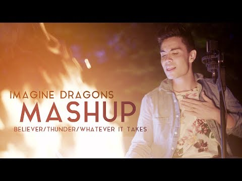 Imagine Drags Mashup Sam Tsui  BelieverThunderWhatever It Takes