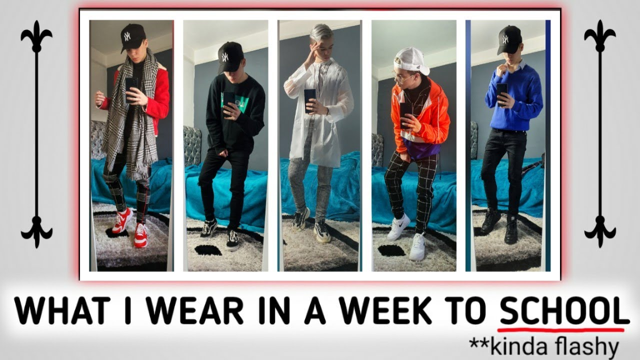 [VIDEO] - WHAT I WEAR TO SCHOOL IN A WEEK! ( autumn/winter outfits) 6