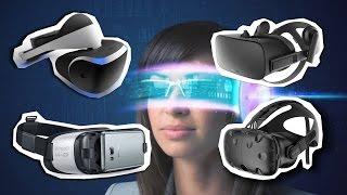 ТОП шлемов виртуальной реальности