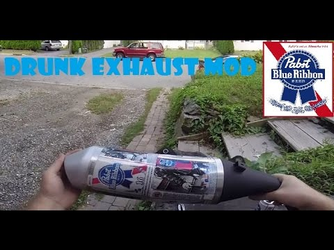 Drunk Grom DIY Mods (Exhaust)