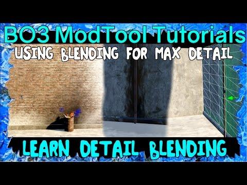 Blending for Max Detail Mod Tools Tutorial Black Ops 3 Custom Zombies