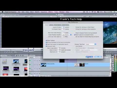 FCE Final Cut Express - Preview Without Rendering - MacBook - YouTube