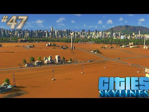 [47] Cities Skylines Snowfall | All The Farms! (Let's Play)