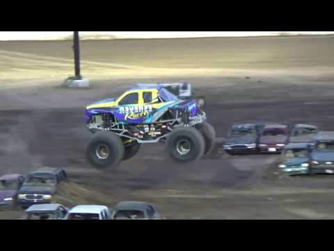 Grays Harbor Raceway, September 16, 2017, Monster Truck Trick Contest