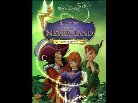 peter pan return to neverland 2002 dvd