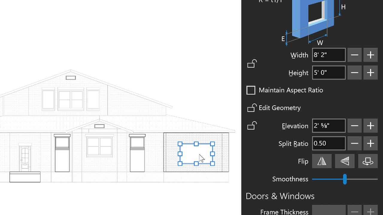 Live Home 3d Pro For Windows Tutorials Elevation View Youtube