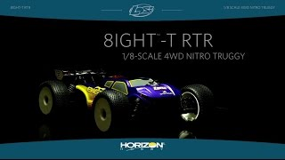Losi 8IGHT-T Nitro RTR: 1/8 4WD Truggy Video