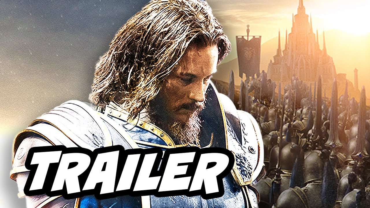 Warcraft Official EXTENDED Trailer #1 2016 Action Fantasy Movie HD   YouTube 720p