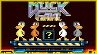 NOWY STICK FIGHT? | Duck Game [#1] (With: Eybi, Kryxos, VGZ) | BLADII