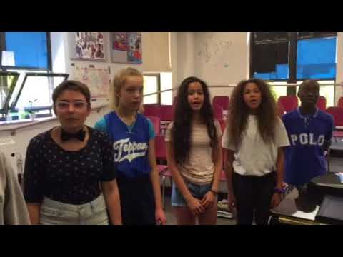 Can't Help Falling In Love Cover - Advisory Choir at Tappan Middle School