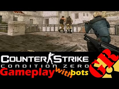 Counter-Strike: Condition Zero gameplay with Hard bots - Sienna - Counter-Terrorist