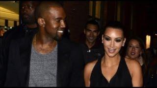Kim Kardashian & Kanye West CAUGHT Getting INTIMATE
