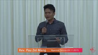 Rev. Pau Zel Mang on November 05, 2017 (M)