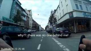 Cycling Compilation Bremen (Germany) ...silly cyclists, drivers and pedestrians