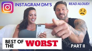 BEST OF THE WORST INSTAGRAM COMMENTS – (You Won't Believe This) DM's Read Aloud Ft Katie Corio: Pt 2