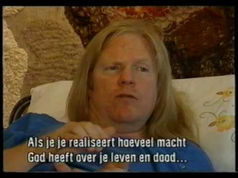 Larry Norman from his hospital bed in Drachten, Holland 1993.