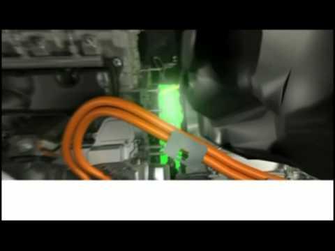 BMW ActiveHybrid 7 - Animation on Break Energy Regeneration