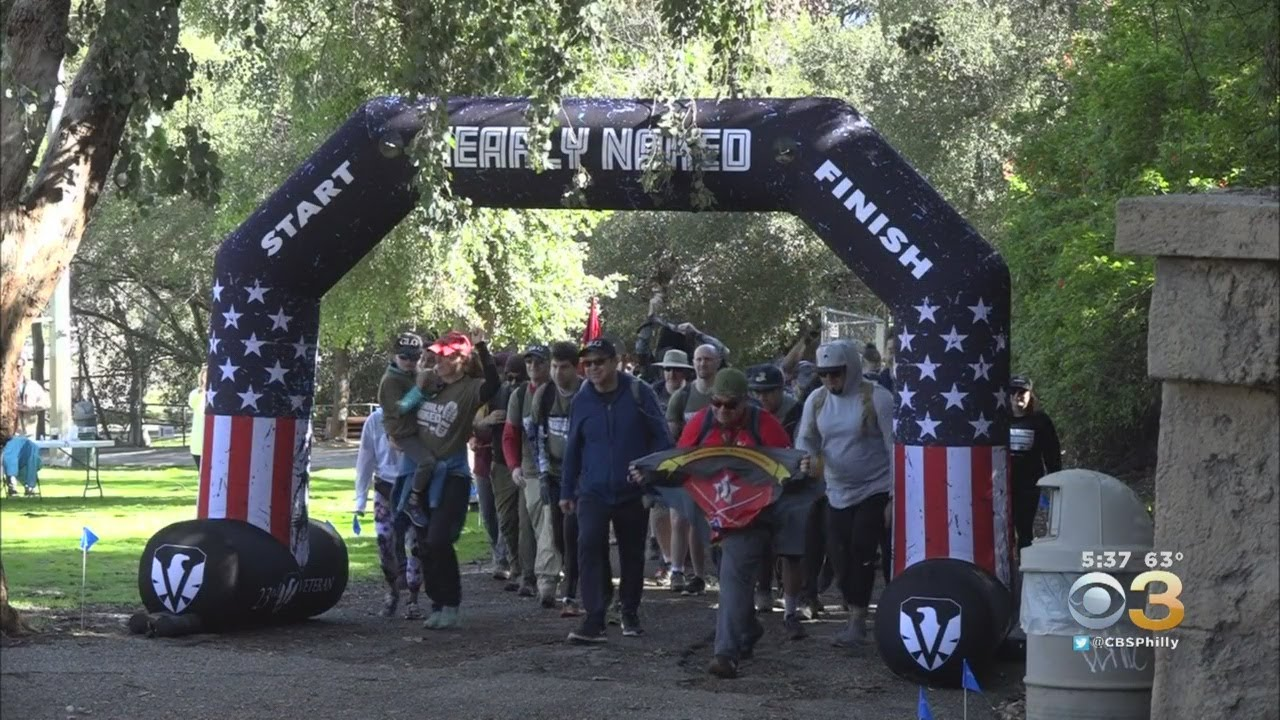 Nearly Naked Ruck March - Los Angeles 2020 - 10 Miles in