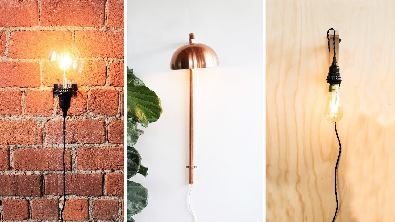 Super Easy Diy Wall Sconces