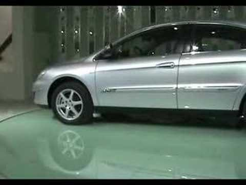 Chery A3 hatchback at 2008 beijing auto show Chinese car 中国車