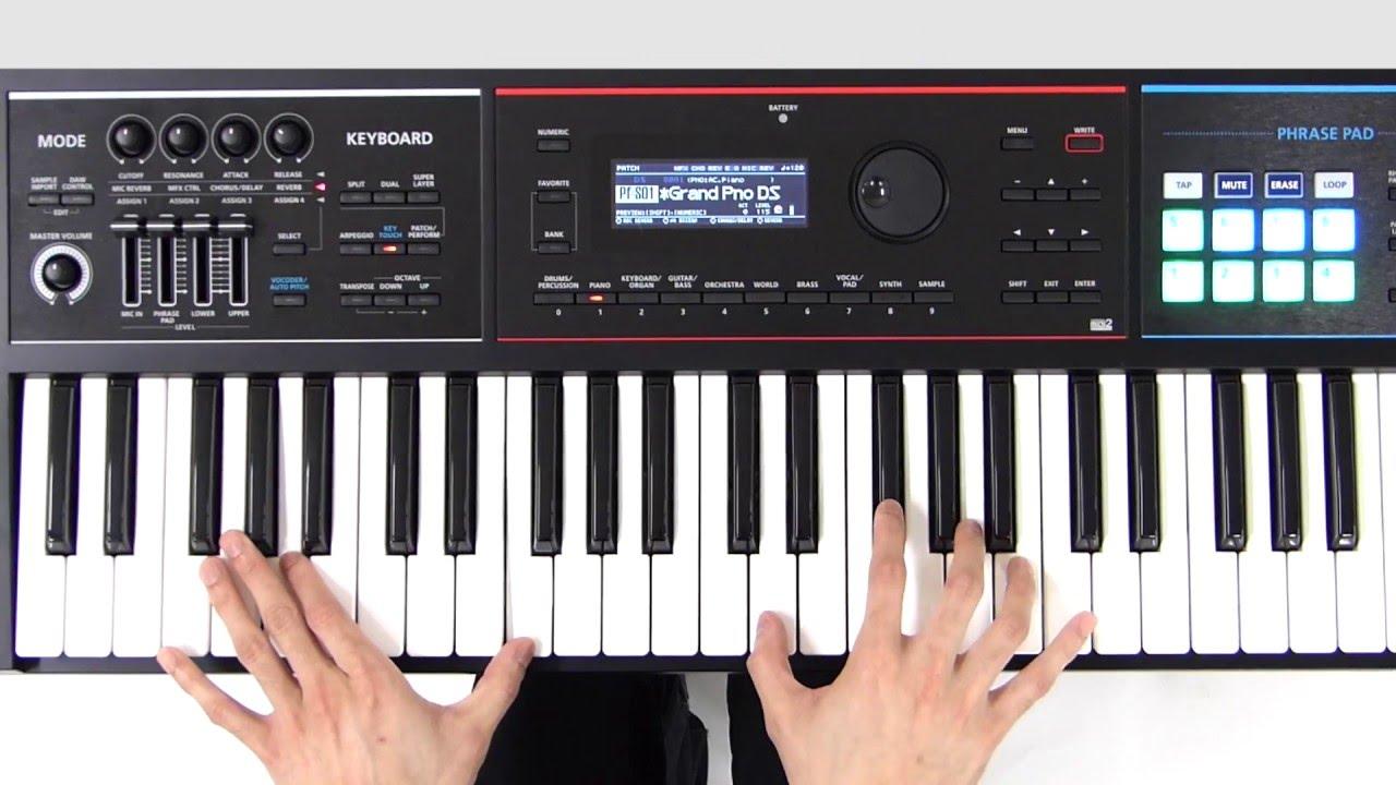 видео инструкция по игре на синтезаторе корг тритон студио