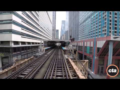 CTA Ride The Rails: Orange Line In Real Time